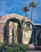 Church Ruins at Mission San Juan Capistrano