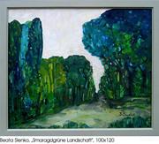 Beata Sienko -Smaragdgrüne Ladschaft
