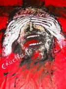 And they crucified him  Acryl auf Tuch 200 x 145 cm