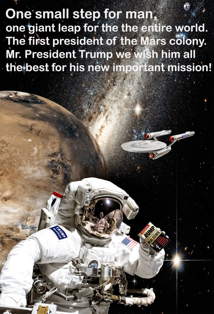 Mars mission, Air Force One