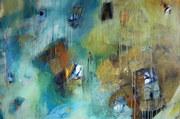 Durchblick, Acryl auf LW, 100 x14