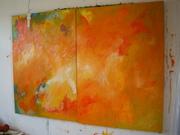 Diptychon Orange