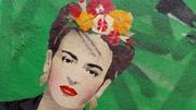 Hommage an Frida. Unbekannter Künstler