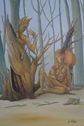Gespräch im Wald