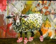 Schaf mit Glück