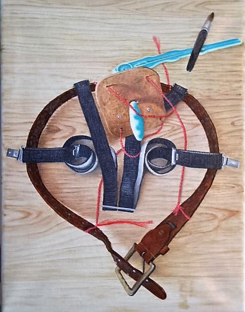Anusrectuspinselhaltermalvorrichtung