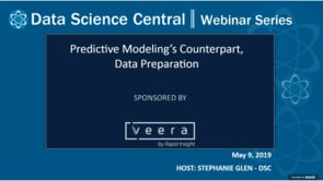 DSC Webinar Series: Predictive Modeling's Counterpart, Data Preparation