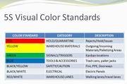 5S Color Standards