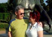Jánossal az Egyetem előtt... / Debrecen