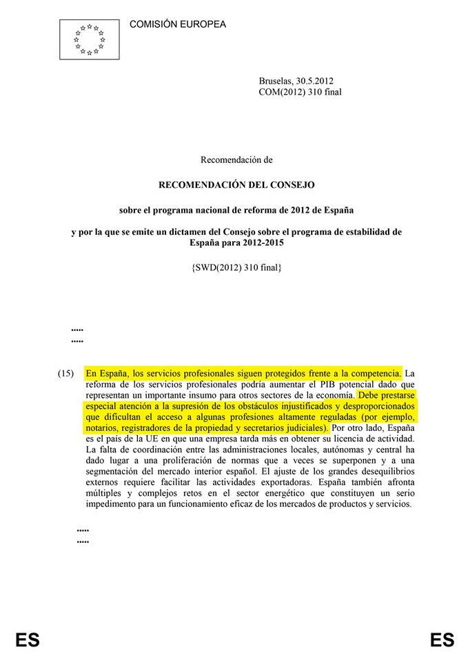 Europa No Justifica LSP