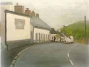Pound Lane Borris, 8x10, oil on canvas board