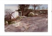 Acuarela - Watercolor. Gallinero en la Fuente del Duque