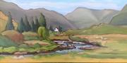 Delphi Valley in Autumn Sun