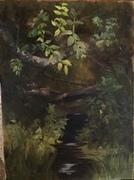 "Summer's Abundance Oil on Canvas 8""x 10"""