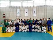Profesor Ahn head of the Department of Judo an Olympic champion Yongin University Korea 9.Sep.2016
