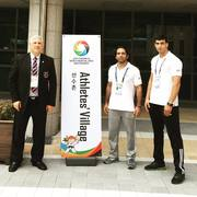 Athletes Village 2016 Mastership Korea. Iran Yongmudo Team.
