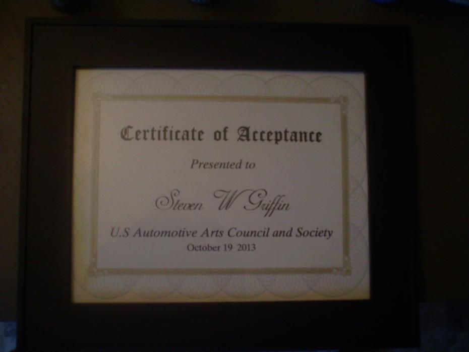 U S Automotive arts award 002