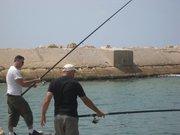 fishing..