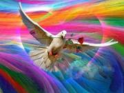 Rainbow Energies of Peace and Healing and Dove