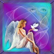 Angel & Dove of Peace