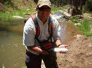 Pete & Rainbow On The Fly!
