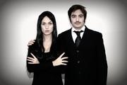 Morticia & Gomez for Halloween