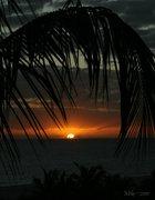 Sunset on Sanibel Island, Florida.