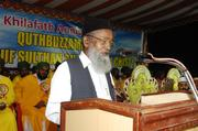 Quthbuzzaman in Khilafath Conference