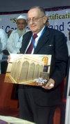 The grand son of gousul Aa'lam shaikh muhyuddheen abdul qadir jeelani