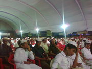 Audience in the milad campaign concluding confarance kaloor