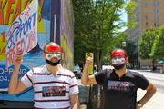 Syrian Protest Down Town Atlanta