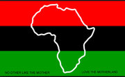 The African American Flag And National Anthem