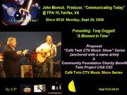Cafe Twin Music Show Series & Innovators