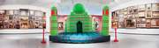 Divya Mehra's Afterlife of Colonialism, a reimagining of Power… turns the Taj Mahal into a bouncy castle. (Supplied)