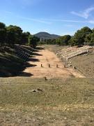sports arena at Epidavros