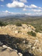 surrounding area at mycenea
