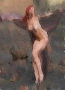 ariel oil sketch