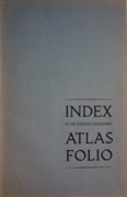 1963 NGS Atlas Folio Index