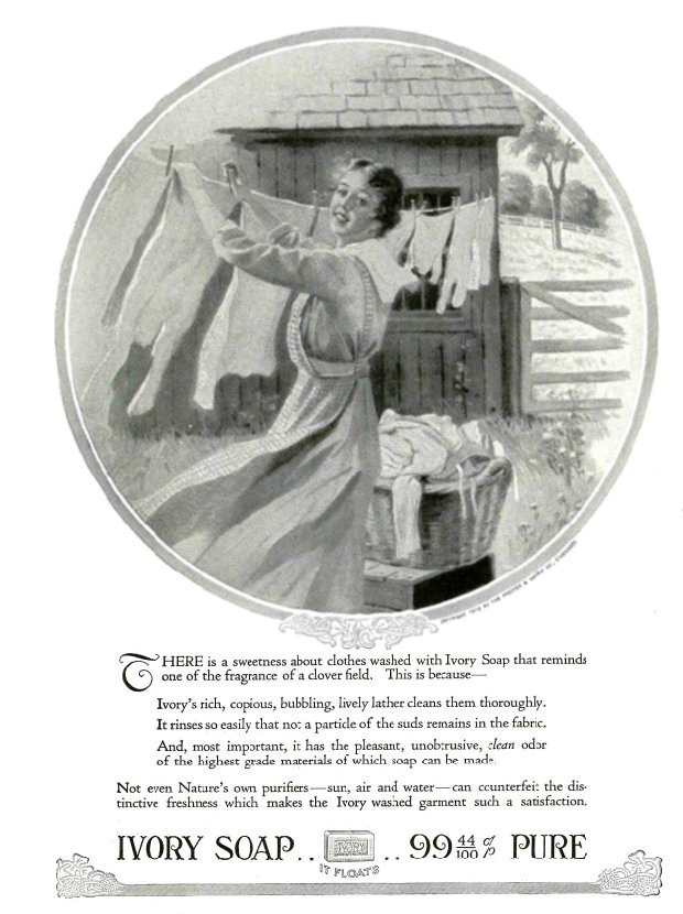 July 1918 Issue - Ivory Soap Ad