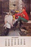1963 Vespa Calendar