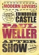 Paul Weller party flyer