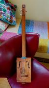 The Maritza, 3-string Cigar Box Guitar
