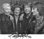 My Stones autograph's
