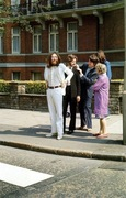 A few seconds before Abbey Road...