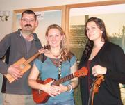 Me with Victoria Vox and her cellist Katie Chambers