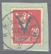 NK282  V-merke - stempl Rælingen