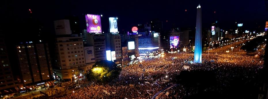 Buenos Aires, manifestación 8N de 2012