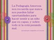 Pedagogia Amorosa