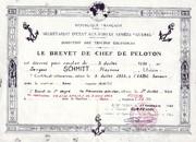 Brevet de Chef de Peloton du RCCC