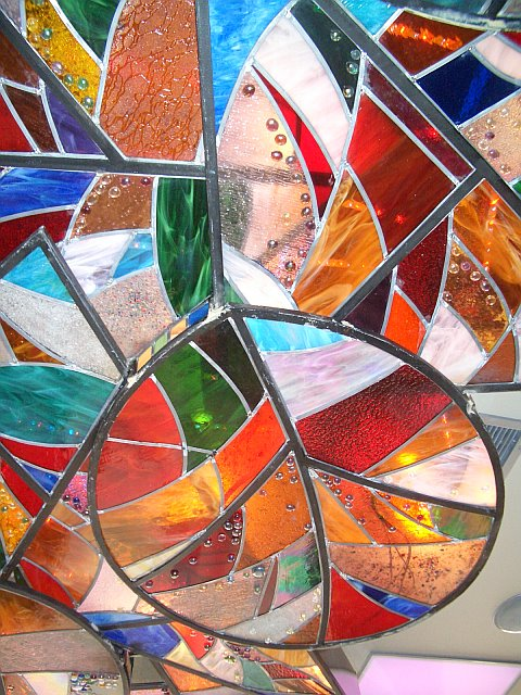 stain glass 6 ceiling
